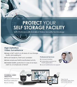 Self Storage Facility Security Solutions
